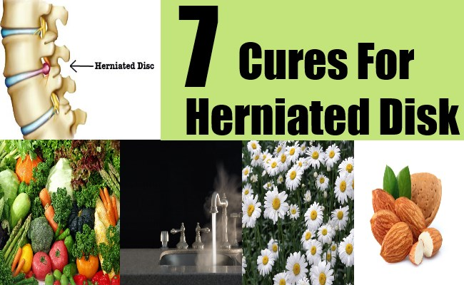 Natural Remedy To Cure Herniated Disc