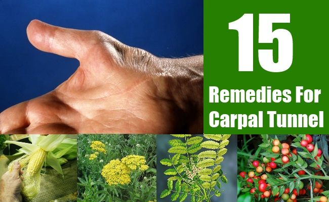 15 Remedies For Carpal Tunnel