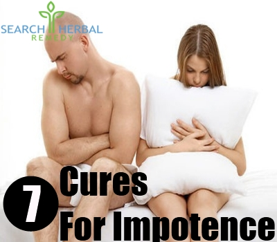 7 Cures For Impotence