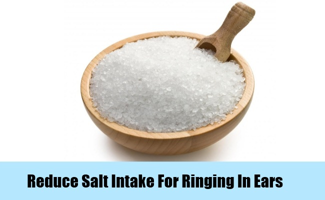 Reduce Salt Intake