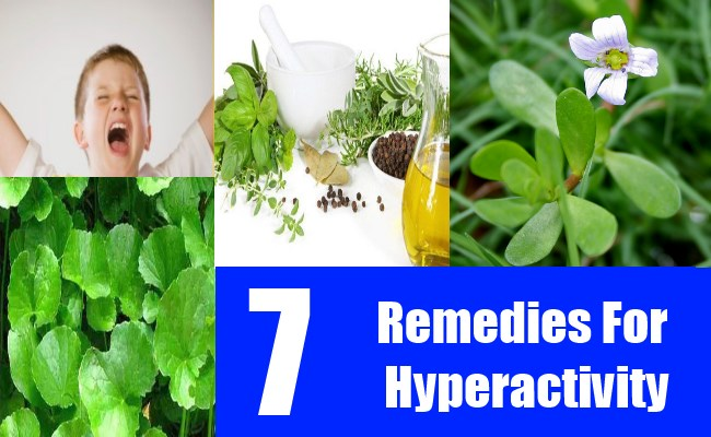 7 Remedies For Hyperactivity