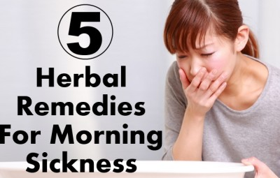 Herbal Remedies For Morning Sickness