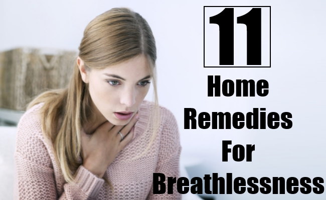 Home Remedies For Breathlessness